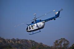 helikopterhux underminerar zs Royaltyfria Bilder