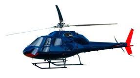 Helikopterisolatie Stock Foto