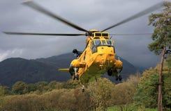 helikopterkonunghav Arkivbilder