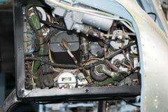Helikopterluchtvaartelectronica royalty-vrije stock afbeeldingen