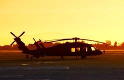 helikoptermilitär Royaltyfri Bild