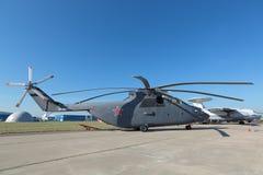 Helikoptern Mi-26 Royaltyfri Bild