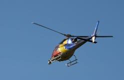 helikopternyheternatv royaltyfria bilder