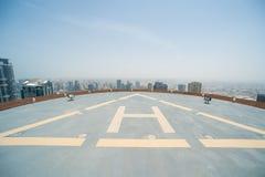 Helikopterområde arkivfoton