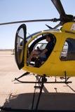 helikopterpilot Arkivfoton