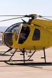 helikopterpilot Arkivbilder