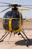 helikopterpilot Arkivfoto