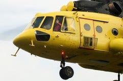 helikopterpilot Royaltyfri Bild