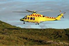 Helikopterräddningsaktion Arkivfoton