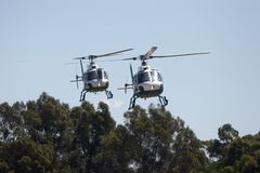 Helikopters Royalty-vrije Stock Foto's