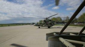 helikopters stock video