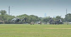 Helikopterskärm Royaltyfri Fotografi