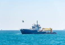 Helikoptersstart Stock Afbeeldingen