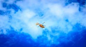 Helikopteru EC 135 Cywilna ochrona Zdjęcie Stock