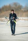 helikopteru kontrolowany radio obraz royalty free