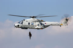 Helikopteru ratunek zdjęcie royalty free