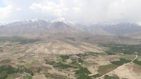 Helikopterverrichtingen in Afghanistan stock video