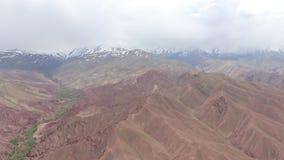 Helikopterverrichtingen in Afghanistan stock footage