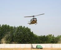 Helikoptery w Afganistan Fotografia Royalty Free