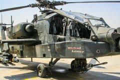 Helikoptery w Afganistan Obraz Stock