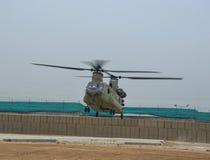 Helikoptery w Afganistan Zdjęcia Royalty Free