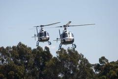 helikoptrar royaltyfria foton