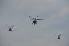 Helikoptrar Arkivfoto