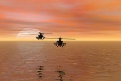 helikoptrar Royaltyfri Bild