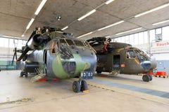 Helikoptrar CH-53 Arkivbilder