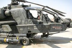 Helikoptrar i Afghanistan Arkivbilder