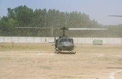 Helikoptrar i Afghanistan Royaltyfria Bilder