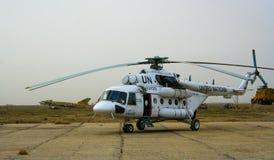 Helikoptrar i Afghanistan Royaltyfria Foton
