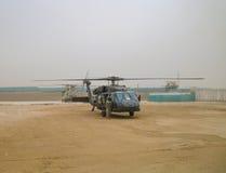 Helikoptrar i Afghanistan Royaltyfri Foto