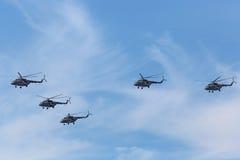 Helikoptrar Mi-8 Royaltyfria Foton