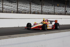 Helio Castroneves Indianapolis 500 Pole Day 2011 3 Stock Photography