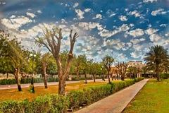 Helio Park i Ajman Royaltyfri Foto