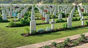 Heliopolis Commonwealth War Cemetery Royalty Free Stock Images