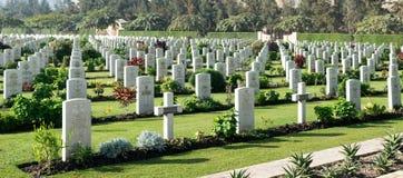 Heliopolis Commonwealth War Cemetery Stock Photos
