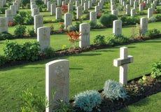 Heliopolis Commonwealth War Cemetery Royalty Free Stock Photos