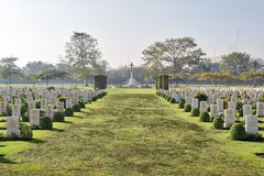 Heliopolis Commonwealth War Cemetery Stock Images