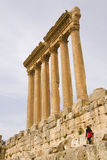 Heliopolis in Lebanon. Heliopolis at Baalbek city in Lebanon Stock Photography