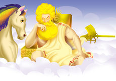 Helios, dios Fotos de archivo libres de regalías