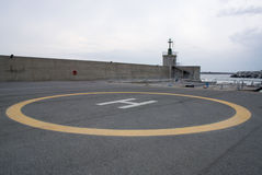 Helipad Royalty Free Stock Photography