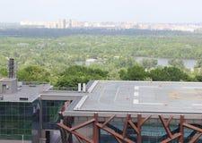Helipad roof Royalty Free Stock Photo