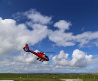 The heliport in campbell national park,australia Royalty Free Stock Photography