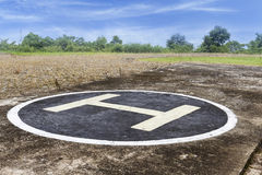 Heliport Royalty Free Stock Image
