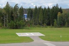 heliporto Fotografia de Stock Royalty Free