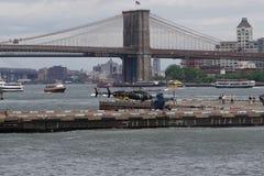 Helipuerto céntrico 67 de Manhattan Fotografía de archivo libre de regalías