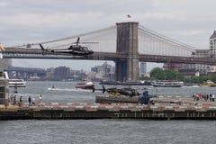 Helipuerto céntrico 65 de Manhattan Imagen de archivo
