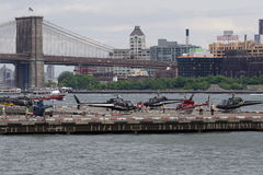 Helipuerto céntrico 57 de Manhattan Imagen de archivo libre de regalías